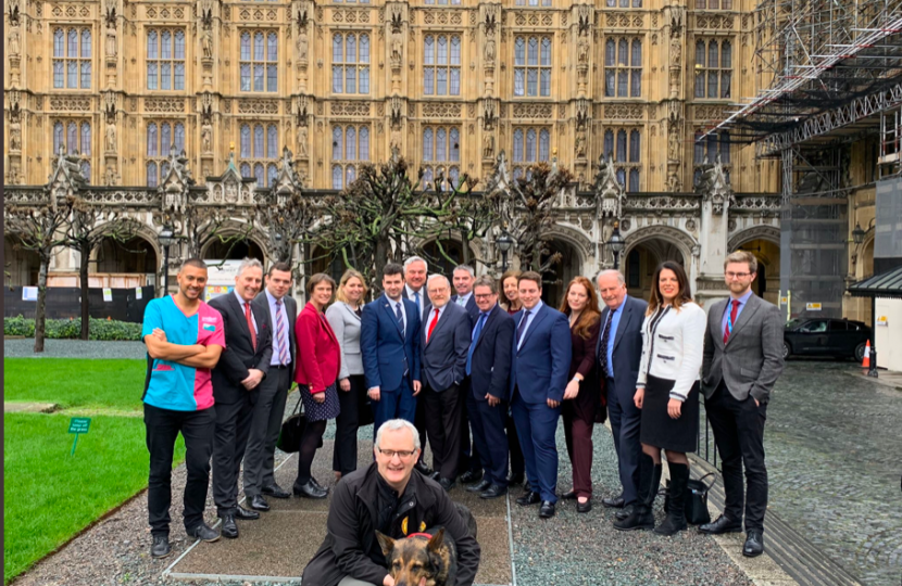Animal Welfare (Sentencing) Bill with Dave Wardell & other MPs