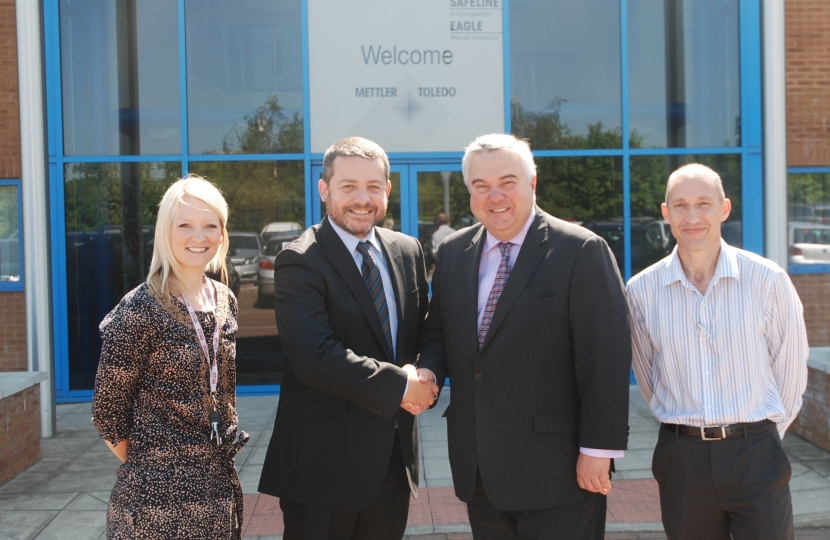 MP Congratulates Royston Firm on Queen's Award 17.06.13